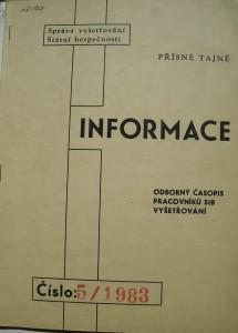 Design obalky v roce 1983